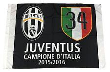 DRAPEAU DE LA JUVENTUS OFFICIEL CAMPIONE D' ITALIE JUVE 100X140 34 SCUDETTO