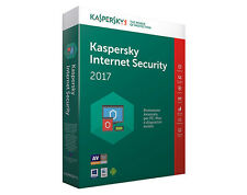 Kaspersky Internet Security 2017 - Licenza di 1 ANNO per 1PC italiano originale