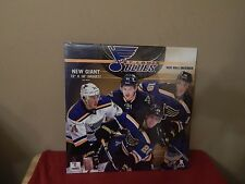 NEW 2016 ST LOUIS BLUES HOCKEY TEAM WALL CALENDAR NHL