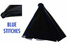 PVC LEATHER BLUE STITCH SHIFT BOOT FOR HONDA & ACURA VEHICLES