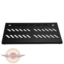 Brand New Gator Black Large Aluminum Pedal Board with Carry Bag