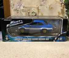 Fast & Furious Brian 1974 Ford Escort RS2000 MKI 1:18 Die-Cast Car Paul Walker