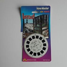 VIEW-MASTER 3DCARDED PACKET SET ISRAEL world tour