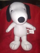 """Peanuts Charlie Brown Snoopy Musical Cuddle Pillow 18"""" Plush Dog New in Package!"""