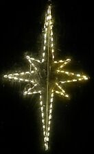 Christmas Nativity Star Xmas Outdoor LED Lighted Decoration Steel Wireframe