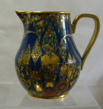 CARLTON WARE 'FANTASIA' ENAMELLED LARGE PITCHER