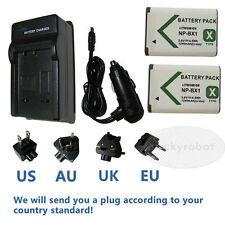 2X Battery +Charger for Sony Cyber-shot DSC-RX100 II, DSC-RX100M2,DSC-RX100M2/B