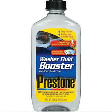 Prestone AS240 Windshield Washer Fluid Booster Winter De-Icer Additive 15.5 oz.
