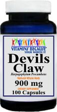 Devil's Claw 900 mg - 100 Capsules - Joint Flexibility New