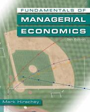 Fundamentals of Managerial Economics by Mark Hirschey 9e international edition