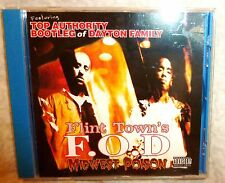 F.O.D Midwest Poison CD Faces Of Death Bootleg Dayton Family Flint rap hip hop