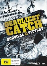 Deadliest Catch - Survival Of The Fittest (DVD, 2013) New Sealed Region 4