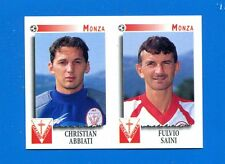 CALCIATORI PANINI 1997-98 Figurina-Sticker n. 493 - ABBIATI-SAINI MONZA -New