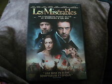 "DVD ""LES MISERABLES"" Hugh JACKMAN, Russell CROWE, Anne HATHAWAY, Amanda SEYFRIED"