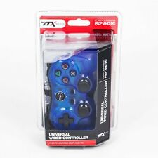 New TTX Tech Controller for PS3 or PC USB (Sony PlayStation 3) - BLUE