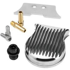 Lowbrow Customs FiltroMax Universal Remote Oil Filter Mount - Polished 003130