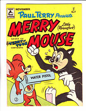 "Merry Mouse No 7 1956 - Austrailian -""Big Water Pistol Cover !  """