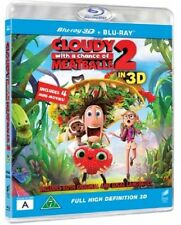 Cloudy 2 Meatballs Blu Ray DVD  (European Packaging Film Plays English)