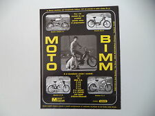 advertising Pubblicità 1972 MOTO BIMM CROSS P4/BILLO/ E/Z M - P/3 T