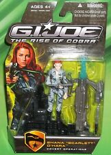 G I GI JOE RISE OF COBRA MOVIE COVERT OPERATIONS SCARLETT  FIGURE