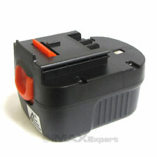 Replace for Black & Decker 12V Slide Type Battery 1500mAh Ni-Cd Cordless Drill