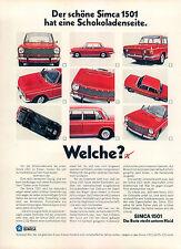 Simca-1501-1969-II-Reklame-Werbung-vintage print ad-Publicidad