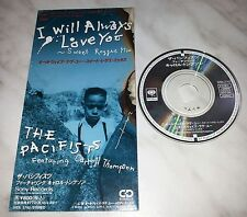 "CD THE PACIFISTS - I WILL ALWAYS LOVE YOU - REGGAE MIX - SRDL 3742 - JAPAN 3"" IN"