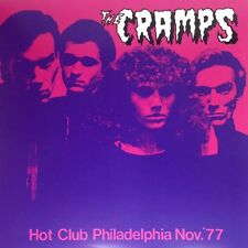 THE CRAMPS HOT CLUB PHILADELPHIA NOV. '77 RECORD VINYLE NEUF NEW VINYL LP 12""