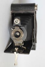 KODAK No 2 FOLDING AUTOGRAPHIC BROWNIE CAMERA ROLLFILM C 1920 +CASE GOOD (USED)