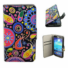 PU Leather Card Slot Phone Case Cover Stand For Samsung Galaxy S4 SIV i9500