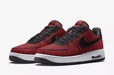 NIKE AIR FORCE 1 ELITE TXT CRIMSON RED BLACK (725144 600) MENS SIZE 9.5