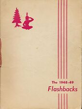 Milford MI Huron Valley High School yearbook 1949 Michigan ( grades 12-K)