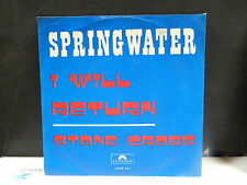 SPRINGWATER I will return / stone cross POLYDOR 2058141 BELGIQUE