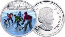 2014 $20 1oz 99.99% Pure Fine Silver Coin - Pond Hockey