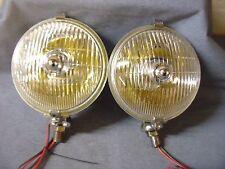 JAGUAR XK120 150 MG T SERIES LUCAS TYPE SFT576 FOG LAMPS YELLOW BULB