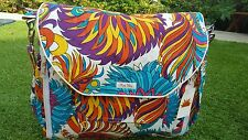 "Diaper Bag by Raa Kha  Aqua, Blue, Pink, Purple, Orange 15"" x 13"" x 5"" w/ BLING"