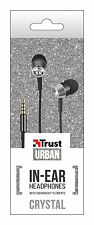 URBAN REVOLT GLAMOROUS SWAROVSKI® CRYSTAL IN-EAR EARPHONES, MIC & VOL CONTROLS