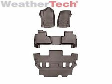 WeatherTech FloorLiner for GMC Yukon w/ 2nd Row Buckets - 2015-2016 - Cocoa