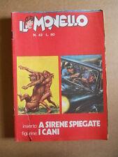 IL MONELLO n°42 1971 RAHAN -  con inserto + Figurine CANI  [G422]