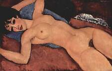 Sleeping Nude with Arms Open by Amedeo Modigliani Canvas Print 16''x24''
