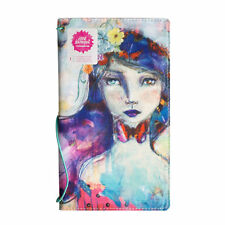 NEW Jane Davenport Canvas Travelers Art Journal Notebook Butterfly Book, Girl