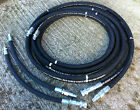 NEXT DAY DELIVERY Hydraulic Breaker Hose Set 6mtr R2AT Complete With Whip Hoses