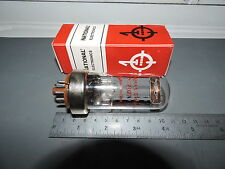 NOS NATIONAL ELECTRONICS 7027A Audio Receiver POWER Vacuum Tube