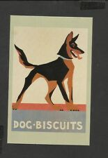 Nostalgia Postcard Art Dec Dog Biscuit Poster 1926
