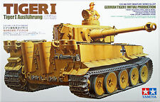 Tamiya 35227 German Tiger I Initial Production Afrika 1/35 Scale Kit