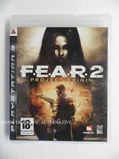 jeu FEAR 2 Project Origin sur PS3 playstation 3 en francais spiel juego game TBE