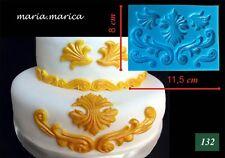 Silikonform silicone mold (132) gold emblem mold cake fondant sugarcraf