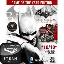 Batman arkham city game of the year edition goty mac et pc clé steam