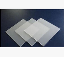 1pc 3*210*297mm A4 Frosted Acrylic Plaskolite Panel Sheet Plexiglass Plastic B5U