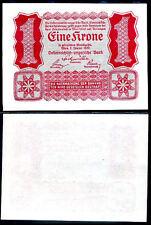Austria 1 krone 1922 p 73 unc